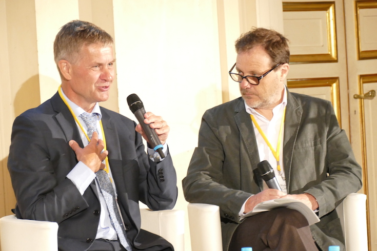 Erik Solheim and Michel Colombier