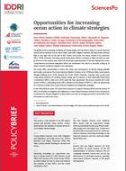 Opportunities for increasing ocean action in climate strategies