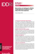 Meilleures pratiques et défis de la mise en place de cadres efficaces de gouvernance du climat