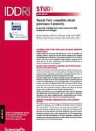 Towards Paris-compatible climate governance frameworks