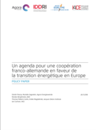 A French-German cooperation agenda for the energy transition in Europe