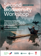 EU-China dialogue on the road to COP15: Second biodiversity workshop (May 2019)
