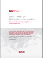 L'ambition climatique au-delà des chiffres d'émissions de GES: bilans et perspectives nationaux et sectoriels