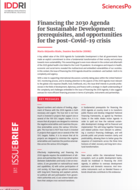 Financing the 2030 Agenda for Sustainable Development: prerequisites, and opportunities for the post-Covid-19 crisis