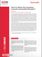 How to debate the transition towards sustainable lifestyles?