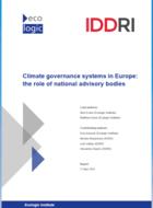 Gouvernance du climat en Europe: le rôle des organes consultatifs nationaux