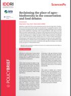 Revendiquer la place de l'agro-biodiversité dans le débat sur la conservation et l'alimentation