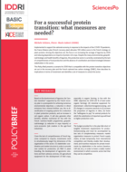 For a successful protein transition: what measures are needed?