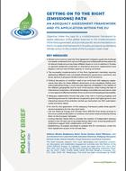Getting on to the right (emissions) path: an adequacy assessment framework and its application within the EU