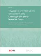 Vers une transition juste des systèmes alimentaires - Enjeux et leviers politiques pour la France