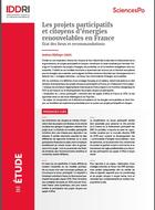 Participatory and citizen renewable energy projects in France - State of play and recommendations