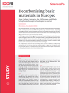 Decarbonising basic materials in Europe