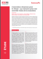 Citizen's Climate Convention: 149 measures for a new vision of ecological transition