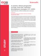 Perspectives nationales sur les stratégies de développement à faibles émissions à long terme (LT-LEDS) - Implications pour une décision ou un résultat de la COP 26