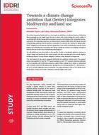 Vers une ambition climatique qui intègre (mieux) la biodiversité et l'usage des terres