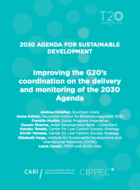 Improving the G20's coordination on the delivery and monitoring of the 2030 Agenda