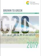 Brown to Green Report 2019 - La transition du G20 vers une économie zéro émission