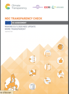 NDC Transparency Check - EU Assessment: Making EU's 2020 NDC Update More Transparent