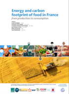 Energy and carbon footprint of food in France - From production to consumption