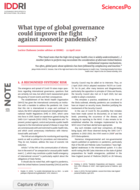 What type of global governance could improve the fight against zoonotic pandemics?