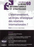 Les multinationales : un enjeu stratégique pour l'environnement?