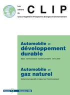 Automobile et développement durable. Automobile et gaz naturel