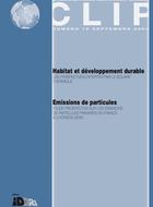 Habitat et développement durable: le solaire thermique. Emissions de particules