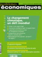 Le changement climatique : un défi mondial