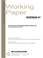 Governance of Renewable Natural Resources
