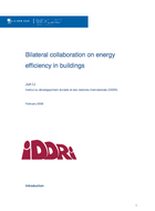 Bilateral collaboration on energy efficiency in buildings