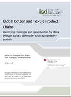 Global Cotton and Textile Product Chains
