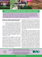 """""""Considerations on the proposed Biodiversity Technology Initiative"""""""