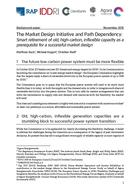 The Market Design Initiative and path dependency