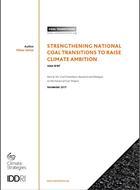 Renforcer les transitions nationales de sortie du charbon pour relever l'ambition climatique