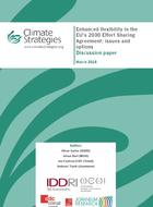 Enhanced flexibility in the EU's 2030 Effort Sharing Agreement: issues and options