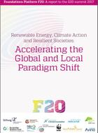 Énergies renouvables, politiques climatiques et sociétés résilientes: accélérer le changement de paradigme aux échelles locale et globale