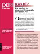 Cinq questions et réponses sur les objectifs de développement durable