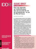 For a biodiversity-oriented approach of land-use change inducing loss of agricultural or natural lands: the case of the Ile-de-France region