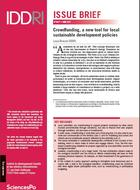 Crowdfunding, a new tool for local sustainable development policies