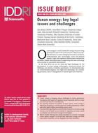 Ocean energy: key legal issues and challenges
