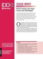 Énergies marines: enjeux et défis juridiques