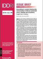 Innovations dans la conservation de la biodiversité dans les aires protégées en Afrique: financement et incitations. Retours d'expérience de trois pays