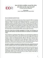 Comment les ONG se mobilisent-elles en faveur des ODD? Quelles pistes de progrès? Une comparaison France-Allemagne