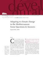 Adapting to climate change in the Mediterranean: Some Questions and Answers.