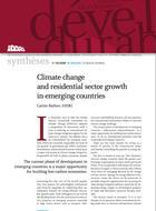 Changement climatique et croissance du secteur résidentiel dans les pays émergents