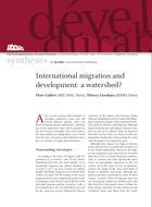 Migrations internationales et développement : un tournant ?