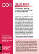 Mobilité collaborative:  des promesses aux enjeux  pour les pouvoirs publics