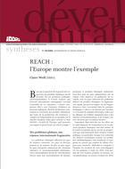 REACH : l'Europe montre l'exemple