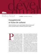 Compétitivité et fuites de carbone