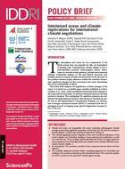 Interdépendance entre océan et climat : implications pour les négociations climatiques internationales